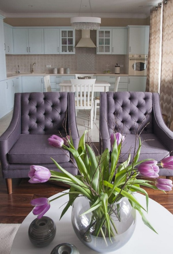 1-pastel-lilac-and-beige-interior-design-open-concept-living-room-purple-capitone-arm-chairs-zoffany-wallpaper-french-walnut-parquet-tulips-traditional-neo-classical-style