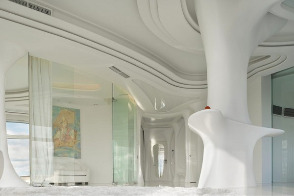 1--total-white-glossy-futuristic-style-interior-design-panoramic-windows-self-levelling-floor-columns-3D-ceiling