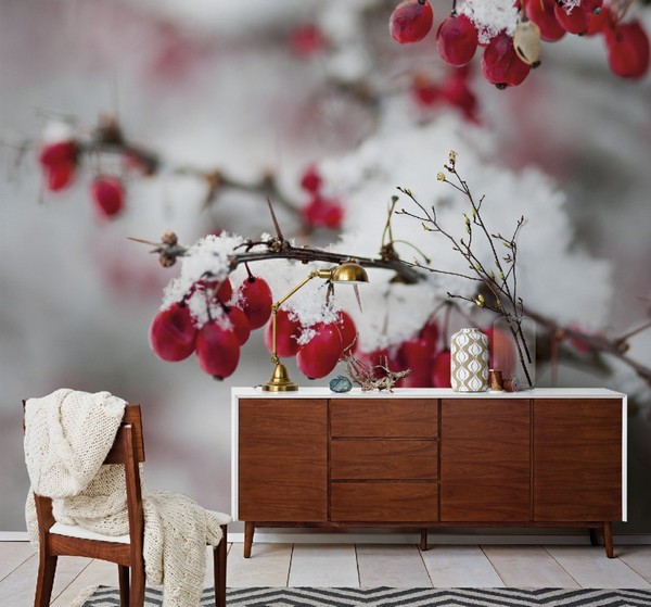 1-winter-photo-wallpaper-wall-mural-printing-in-interior-design-barberry-snow
