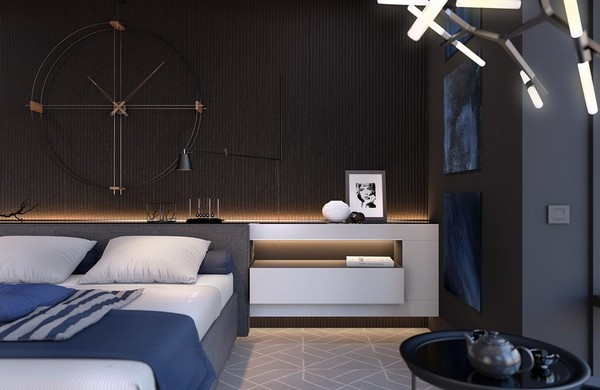 11-bedroom-lighting-black-walls-agnes-lamp