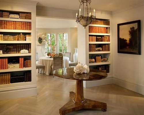 11-home-library-ideas-book-storage-in-wall-recesses-door-aperture