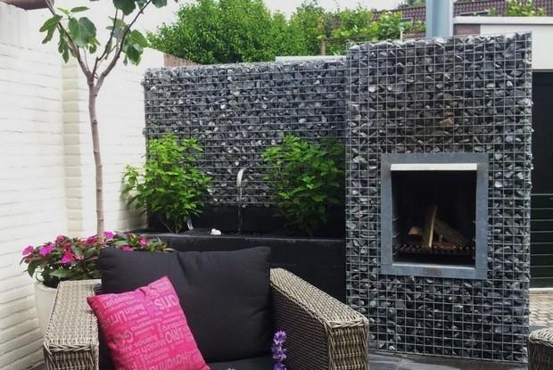 11-unusual-designer-fire-pit-stone-gabion
