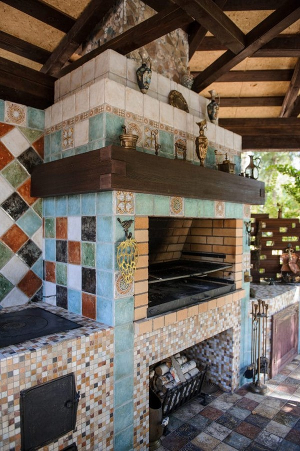 12-beige-and-turquoise-garden-gazebo-design-multicolor-ceramic-tiles-mosaic-tabletop-vintage-barbecue-set-outdoor-fireplace-brass-decor