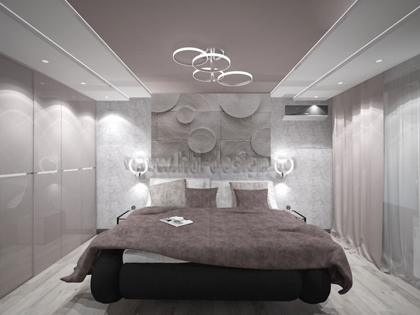 12-tortora-dove-gray-interior-bedroom-futuristic-lamp-3D-wall-panel-decor-built-in-closet