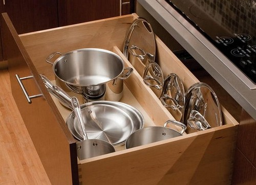 Wonderful 13 Pot Lid Storage Ideas Organizers