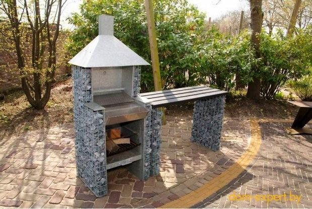 14-unusual-designer-fire-pit-stone-gabion-grill