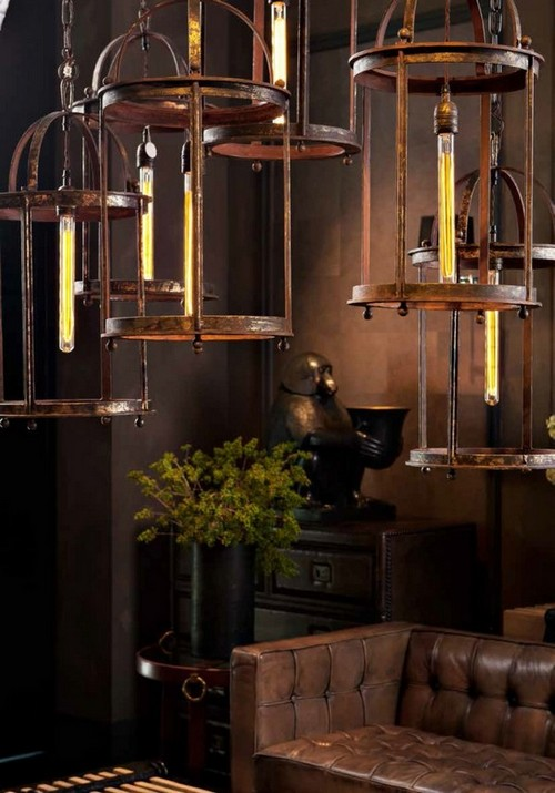 15-golden-elements-gold-in-interior-design-eclectic-style-unusual-modern-metal-lamps