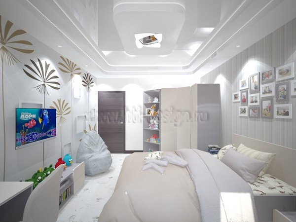 15-tortora-dove-gray-interior-kid's-girl's-bedroom-cork-floor-digital-photo-printing