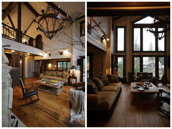 15-vintage-american-country-style-wooden-house-living-room-rocking-chair-panoramic-windows