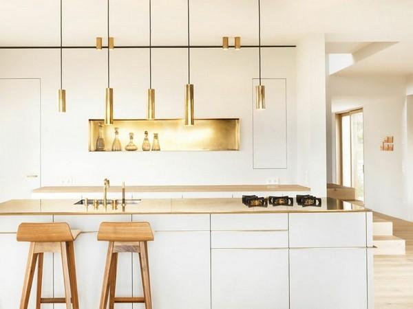 18 Golden Elements Gold In Interior Design White