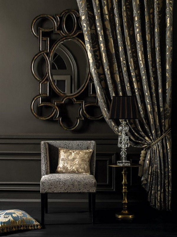 18-luxurious-designer-elegant-dark-home-textile-togas-nocturne-collection-curtains-drapery-upholstery-arm-chair-decorative-couch-pillows-black-walls-in-interior-design-classical-style