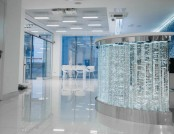 Gorgeous Blue & White Hospital Interior