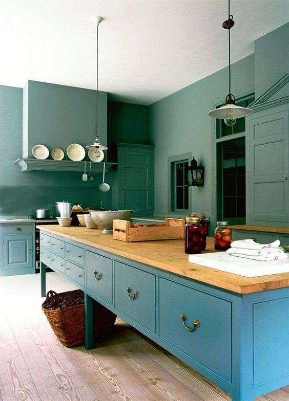 20-kale-color-kitchen-set-cabinets-green