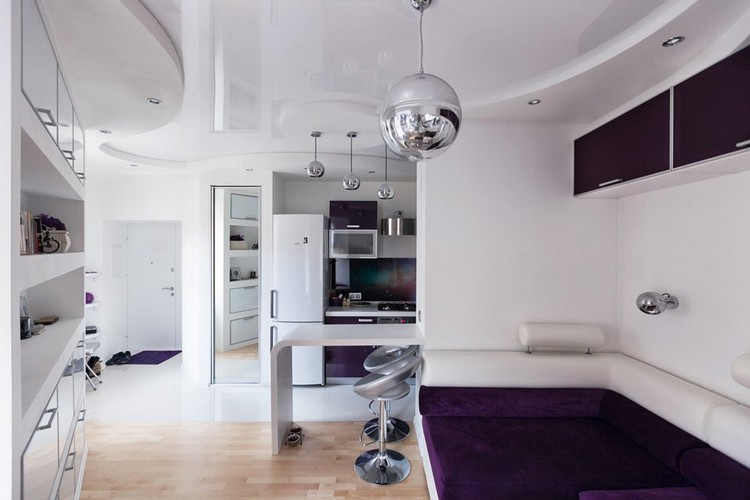 3-futuristic-interior-style-lounge-stretch-ceiling-white-and-purple