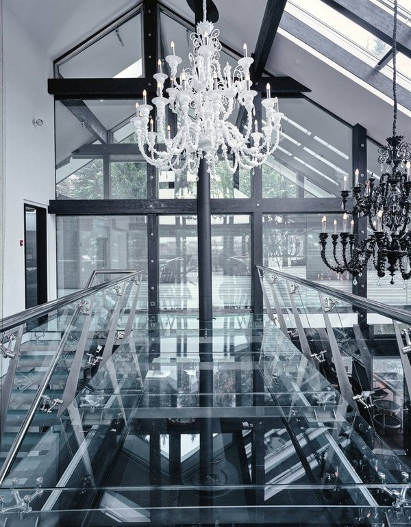 3-unusual-glass-house-panoramic-windows-skylights-console-staircase-beautiful-crystal-chandeliers-glass-bridge