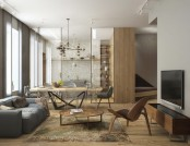 Cozy Minimalism: Stylish Apartment for a Young Family