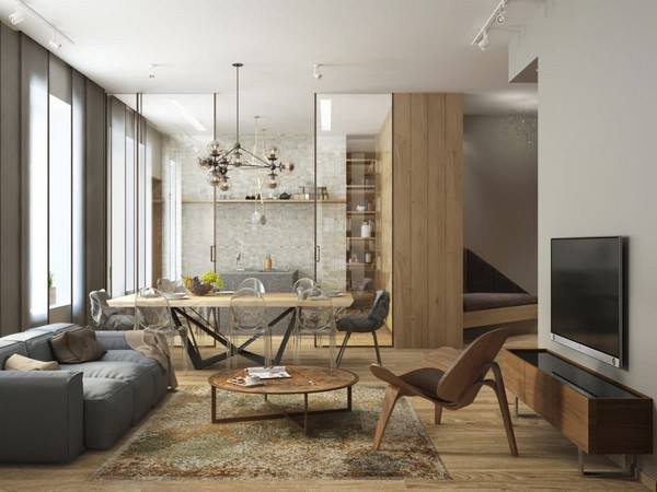 Living Room Ideas Young Family cozy minimalism: stylish apartment for a young family | home