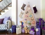 Hand-Made Wall Christmas Trees