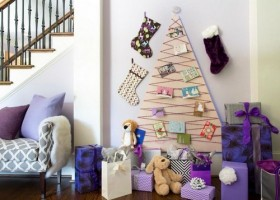 5-diy-hand-made-wall-christmas-tree-plywood-threads-postcards