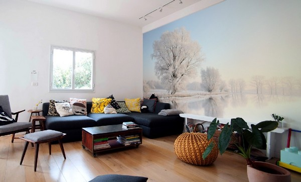 5-winter-landscape-photo-wallpaper-wall-mural-printing-in-interior-design-scandinavian-style-living-room