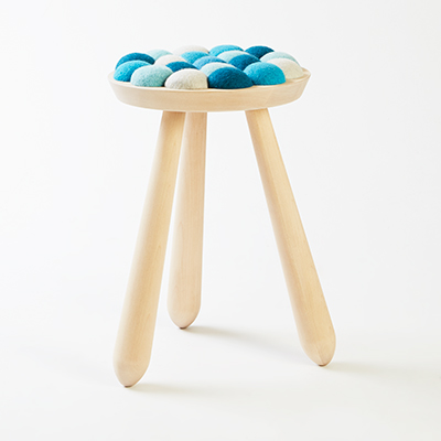 Cool with wool designer stools from norway home for Cool stool designs