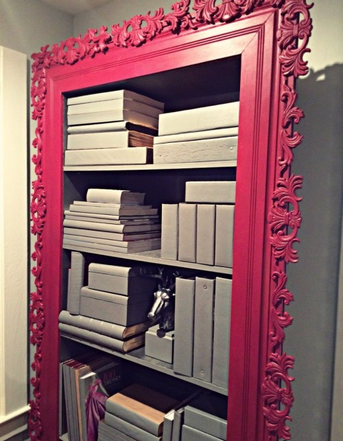 6--diy-hand-made-framed-bookcase-bookstand