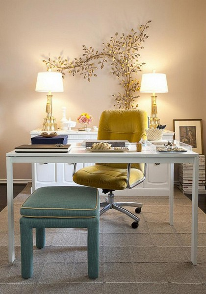 6-home-office-design-beige-and-golden-classic