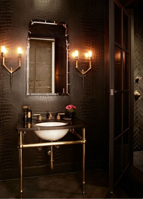 7-golden-elements-gold-in-interior-design-loft-style-lamps-wash-basin-cabinet