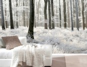 10 Inspiring Winter Wall Murals