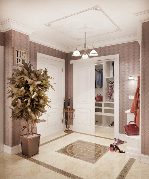 8-neo-classical-style-pastel-hallway-floor-tile-composition-stripy-wallpaper