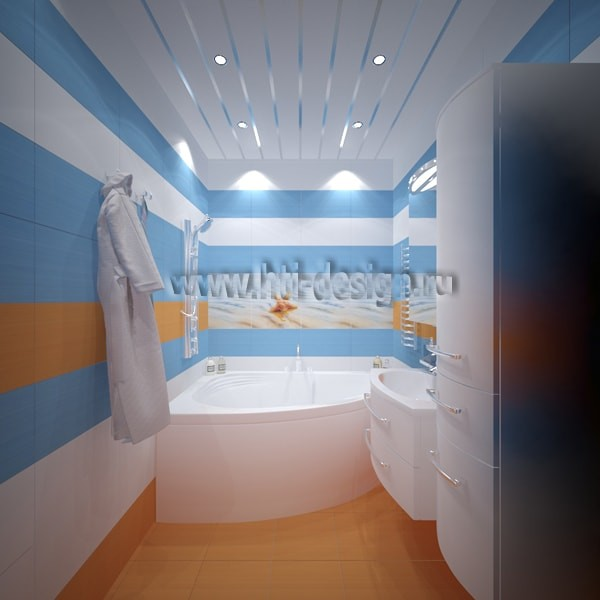 8-tropical-island-style-bright-interior-blue-and-white-bathroom-sunrise-theme-stretch-ceiling