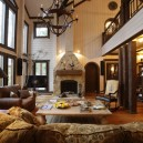 8-vintage-american-country-style-wooden-house-living-room-with-panoramic-windows-fireplace