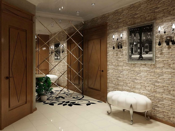 Mirror Walls Plastic Panels And Tiles Home Interior Design Kitchen And Bathroom Designs Architecture And Decorating Ideas