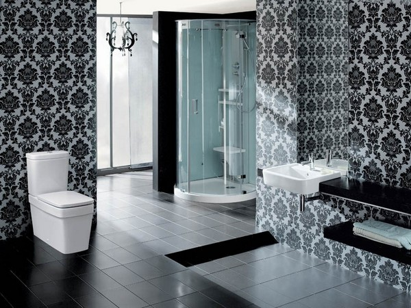 Black And White Bathroom Interior Design Tips Home Interior Design Kitchen And Bathroom Designs Architecture And Decorating Ideas