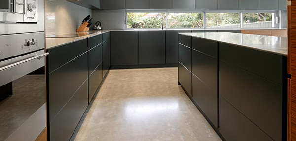 Polished Concrete Floor - Lilli Pilli
