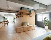 Unusual L-Shaped Apartment with No Doors in Japan