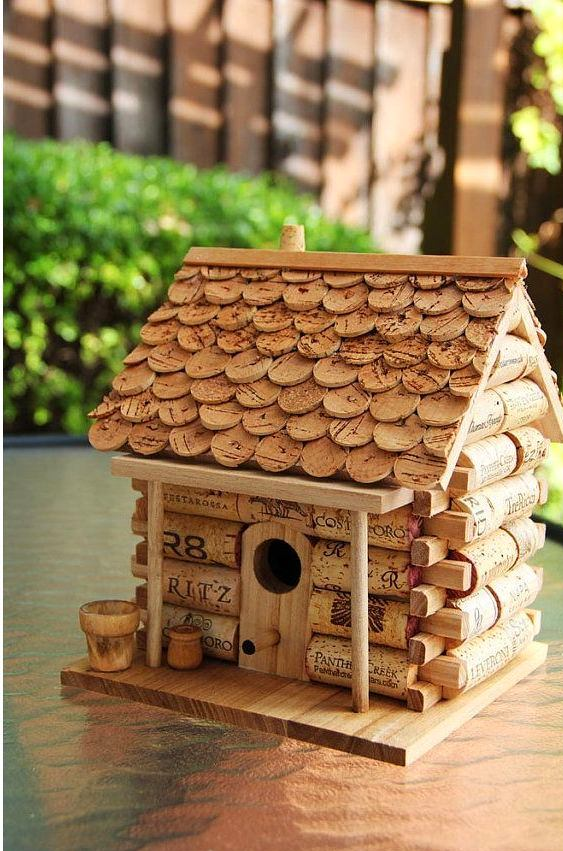 0-wine-cork-re-use-ideas-hand-made-birdhouse