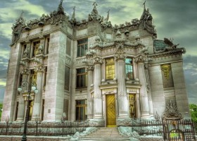 00-Vladislav-Gorodetsky-architecture-Kyiv-Ukraine-House-with-Chimaeras-concrete