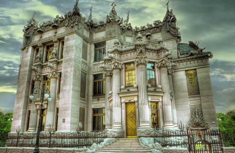 00-Vladislav-Gorodetsky-architecture-Kyiv-Ukraine-House-with-Chimaeras-concrete