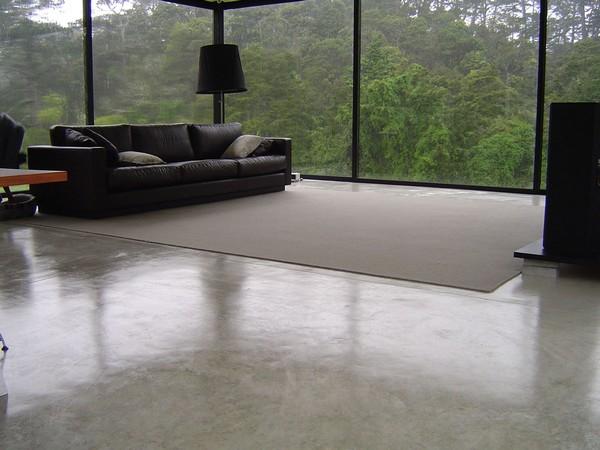 00 Polished Concrete Floor In Interior Design Panoramic