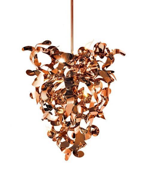 1-Brand-van-Egmond-designer-handcrafted-unusual-Kelp-ceiling-lamp-chandelier-red-copper-finish