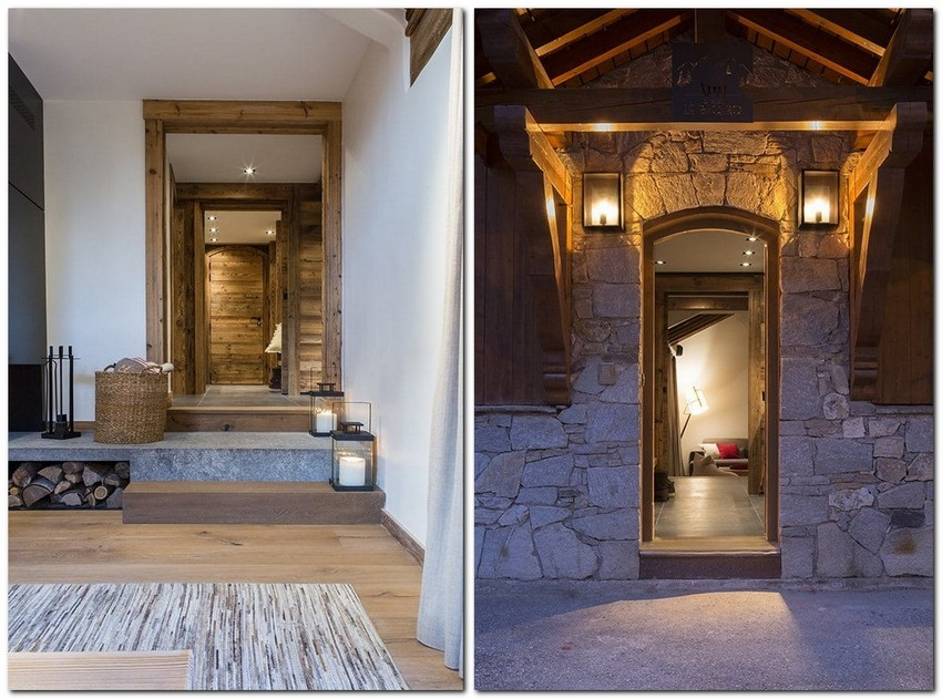 1-chalet-style-interior-design-stone-wood-entrance-door-porch