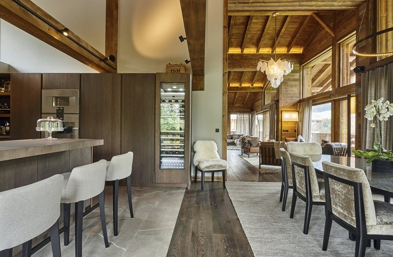 Refined Chalet Design in the French Ski Resort | Home Interior ...