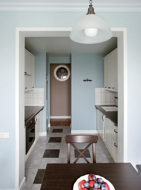 1-light-blue-and-brown-narrow-kitchen-design-dining-room-interior-window