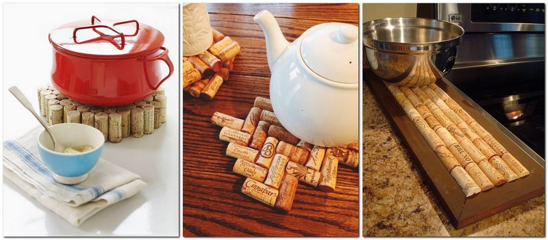 1-wine-cork-re-use-ideas-hand-made-coaster-mat-trivet-for-hot-stuff