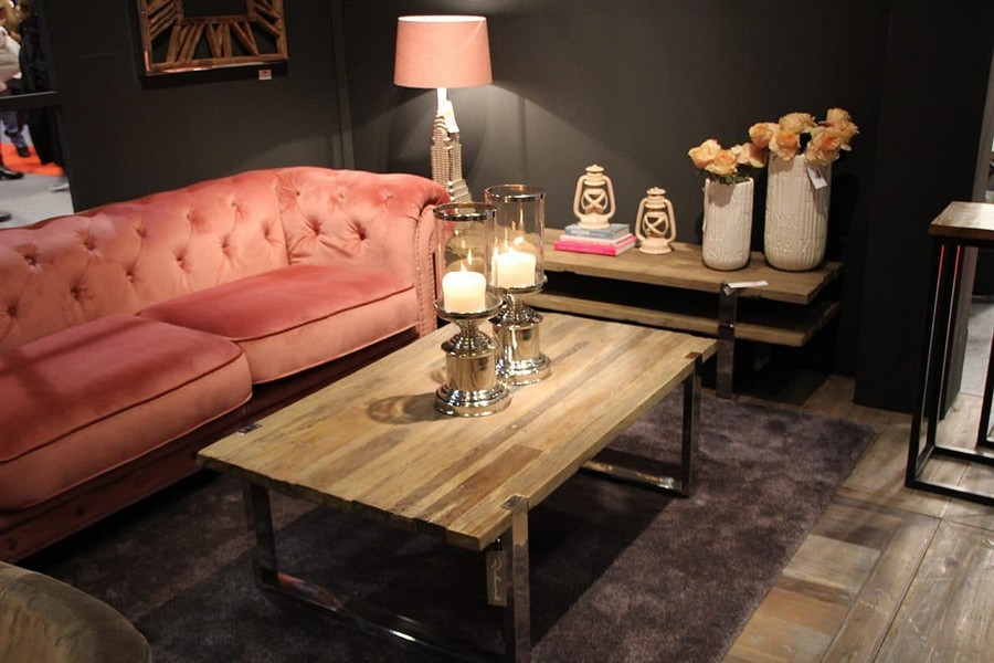 15-Richmond-Interiors-by-Spieghel-furniture-in-interior-design-at-Maison-and-&-Objet-2017-Exhibition-trade-fair-Paris-pink-velvet-capitone-sofa