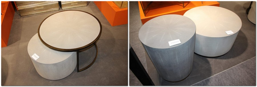 15-Robert-Langford-furniture-at-Maison-and-&-Objet-2017-Exhibition-trade-fair-Paris-orange-and-gray-set-coffee-table-stool-minimalist-in-interior-design