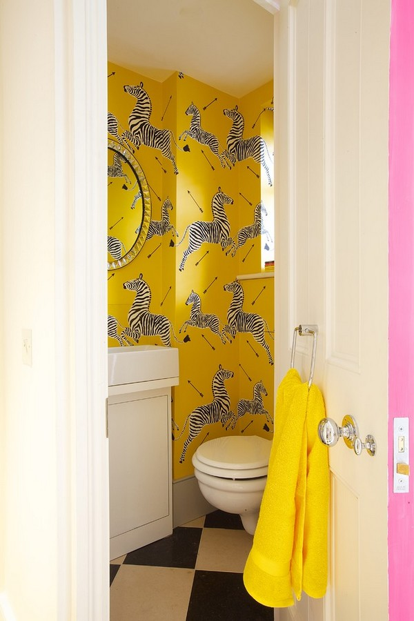 17-cheerful-white-black-yellow-bathroom-interior-design