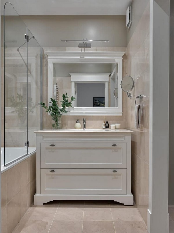 17-pastel-beige-bathroom-interior-design-white-wash-basin-cabinet-mirror-Caprigo