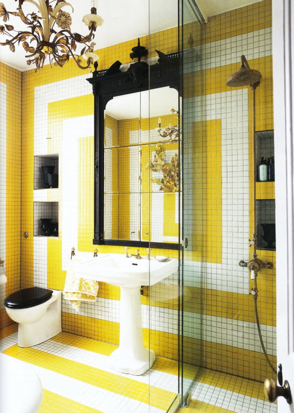 18-cheerful-white-black-and-yellow-bathroom-interior-design
